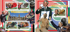Nelson Mandela Politics Nobel Peace Prize Africa Jackson Maldives MNH stamp set