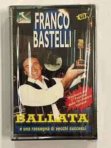 FRANCO BASTELLI - BALLATA - MC MUSICASSETTA NUOVA SIGILLATA