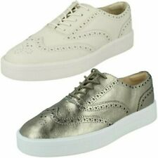 Ladies Clarks Lace Up Shoes 'Hero Brogue'