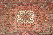 8'6 x 11 Superb Geometric Azerbaijani S Antique Handmade Wool Area Rug 9 x 11
