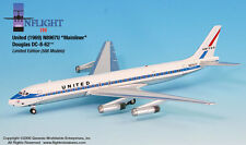 InFlight200 United Airlines Douglas DC-8 Mainliner1:200 Scale 1969 N8967U New
