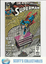 Adventures of Superman  #483   NM