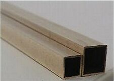 """Square Brass Tube #8149: 1/16"""", Carded, Pack of 2"""