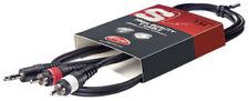 Cablaggi e terminali professionali cavi RCA / phono-maschi Rapporto di splittagio 1 : 1
