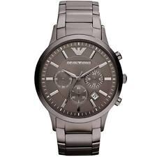 ** nuevo ** emporio Armani Reloj AR2454 ® - Para Hombre, Gris, Gunmetal