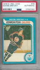 Wayne Gretzky 1979 OPC O-Pee-Chee Rc #18 PSA Authentic #1