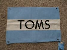 Shoe Dust Bag from TOMS Shoes great for travel or keep to your shoes dust free!!