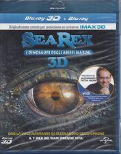 Blu-ray 3D + 2D **SEA REX • I DINOSAURI DEGLI ABISSI MARINI** nuovo sigillato
