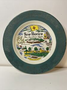 "State Of New Mexico Very Nice Decorative Souviner Plate 10"" inch"