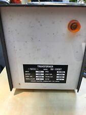 Sugano Electric Laboratory Japan 100v to 120v transformer