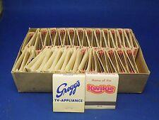 Lot of 48 Vintage Matchbooks Gregg's TV & Appliance Store and Pick Kwik