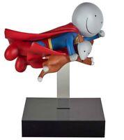 DOUG HYDE - Super Man Sculpture Is it a Bird Is it a Plane Boxed Brand New COA
