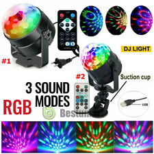 Disco Party Lights Stage Light Strobe LED DJ Ball Indoor Сolored Dance Bulb Lamp