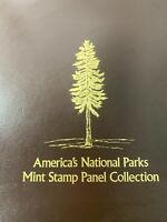 America's National Parks Mint Stamp Panel Collection in Album