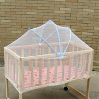 Baby Crib Cot Bed Cradle Mesh Mosquito Net Arched Tent Infant Canopy Netting