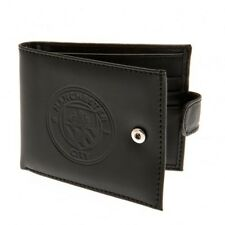Manchester City F.C - Leather Wallet (RFID ANTI FRAUD) - GIFT