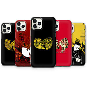 WU-TANG CLAN HIP HOP PHONE CASES & COVERS FOR IPHONE 5 6 7 8 X 11 SE 12 PRO MAX