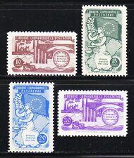 Turkey 1954 MNH Mi 1391-1394 Sc 1130-1133 Council of Europe, 5th anniv. Justice