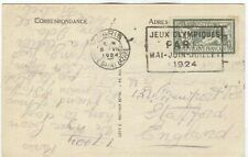 France Olympische Spiele Olympic Games 1924 Olympic cancel Gare Saint Lazare