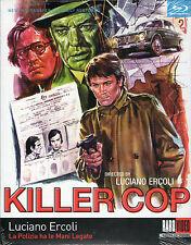 Killer Cop Blu Ray Raro Luciano Ercoli Euro Crime Poliziotteschi Arthur Kennedy
