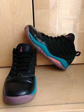 Nike Air Jordan Youth Basketball Shoes Black Teal Gs Velocity 6Y