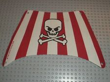 Voile de bateau LEGO Pirates boat cloth sail ref x1957px2 - 64994 / Set 6243