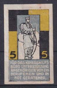 CINDERELLA/POSTER STAMP  28.2 WWI