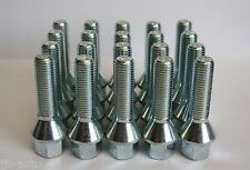 20 X M12 X 1.5 50MM TAPERED ALLOY WHEELS BOLTS FIT OPEL ASTRA G H MK4 MK5