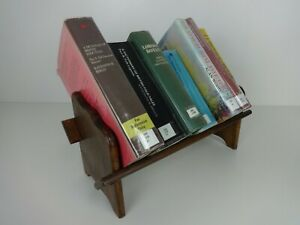 Vintage Bookshelf Small Handmade Wooden Freestanding Interior Design Bookcase