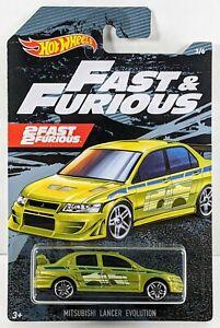 Mitsubishi Lancer Evolution > Green > Hot Wheels > Fast & Furious > 2019 > New