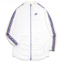 New Nike Sportwear Taped Poly Track Taped Side Stripe Athletic Jacket Mens Sz M
