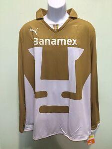 PUMA UNAM white-gold long sleve puma brand