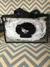 Clear Bag Black Purse Clear Travel Bag Clear Makeup Pouch Black Friday Sale