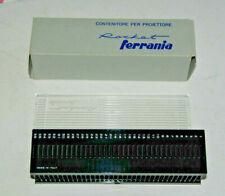 Slide 35mm cassette straight magazine FERRANIA Rocket +lid box 36 slide capacity