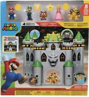 Nintendo Super Mario Bowser Castle Playset With 5 Super Mario Figures inc. Peach