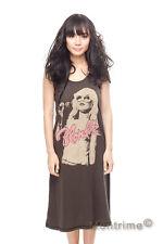 Blondie Debby Harry Long Dress Rock Band T-Shirt Women Tank Top Tunic Size S M