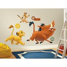 THE LION KING MURAL wall sticker 17 stickup DISNEY SIMBA PUMBAA TIMON room decor