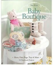 BABY BOUTIQUE Sewing Project Book by Sue Kim ~ 16 Handmade Items for Baby!