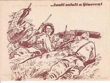 """A7593) WW ETIOPIA, """"SALUTI A GINEVRA"""", TRUPPE ITALIANE IN AFRICA ORIENTALE."""