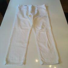 Blanc effet vieilli Gap authentic boyfriend jeans