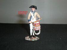 BRITAINS 18027 AMERICAN REVOLUTION CONTINENTAL LINE DRUMMER METAL TOY SOLDIER