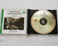 Dietrich KNOTHE / Max REGER Sacred songs GERMANY CD ETERNA-BERLIN Classics (1992