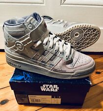 ADIDAS FORUM Star Wars AT-AT Sneaker Hi Top Ten G17354 Limited Force US 8/42 SW