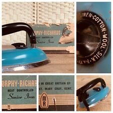 More details for boxed vintage 1960s electric iron made in england  morph richards