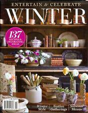 Entertain & Celebrate Winter 2020 Seasonal Menus - Festive Gatherings - Style