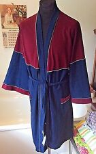 vintage M&S 1970's Triacetate (brushed Nylon) dressing gown Kung-Fu sleeves L 42