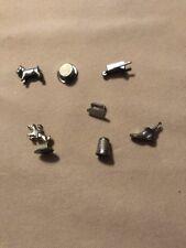 Game Piece Token Car Dog Wheelbarrow Hat Iron Horse Boot Thimble Monopoly