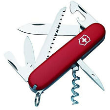 Victorinox Swiss Army 91mm/3.58in Camper Pocket Knife, Red