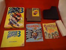 Super Mario Bros. 3 (Nintendo NES 1990) COMPLETE Challenge Set Box manual