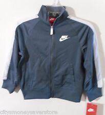 NWT Nike Youth Boys Girls Full-Zip Track Jacket 5 Armory Slate MSRP$48